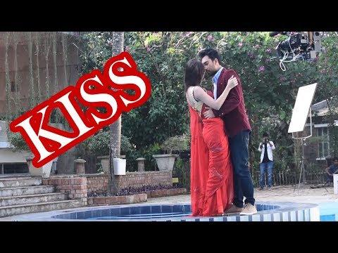 Shooting time kiss | Jovan & Tisha | শুটিংএ জোভান তিশার কান্ড | YouTube