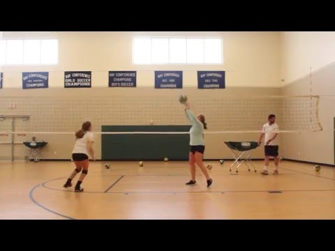 Laura Pemble : 2017 Volleybal Prosepect - Skills tape