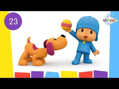 POCOYO WORLD: Puppy Love (EP23)  30 Minutes with close caption