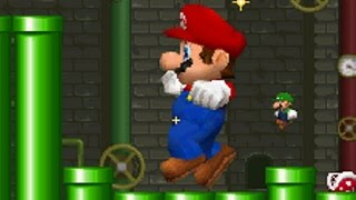 Every single stage in the Mario vs Luigi mode from New Super Mario Bros DS. 00:00 Grass Stage 1:38 Underground Stage 3:27 ...