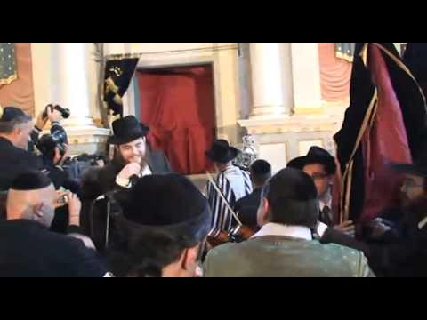 Zsinagóga újraavatás Óbudán - Füles videó