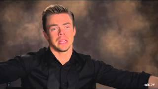 Derek Hough talks about what it's going to be like being judged every week by his sister, Julianne