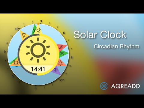 Video of Solar Clock: Circadian Rhythm