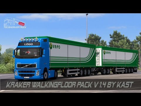 Kraker Walkingfloor Pack v1.4 (1.28)