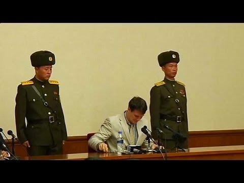 Επί ένα χρόνο σε κώμα ο αμερικανός φοιτητής που κρατούνταν στη Β. Κορέα