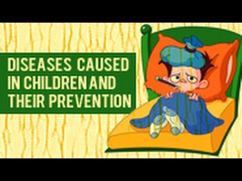 children's causes - Learn about the different diseases found among children in an animated manner where the animated characters help you to understand the prevention of such dis...