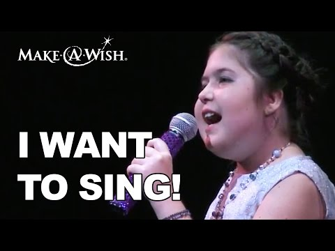 I want to be a Singer! - Lauren's Wish | Make A Wish Southern Florida
