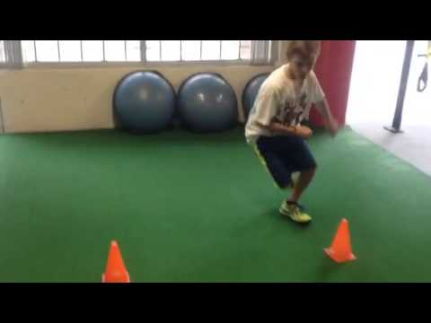 Circuit training for youth hockey players