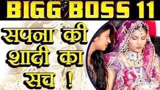 Video Bigg Boss 11: Sapna Chaudhary SECRET marriage TRUTH REVEALED | FilmiBeat MP3, 3GP, MP4, WEBM, AVI, FLV Oktober 2017