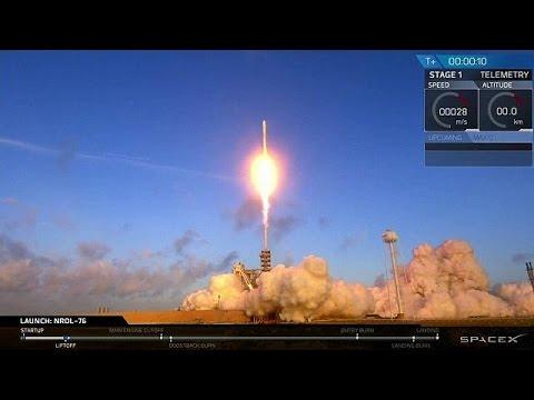 Συνεργασία του αμερικανικού στρατού με την Space X