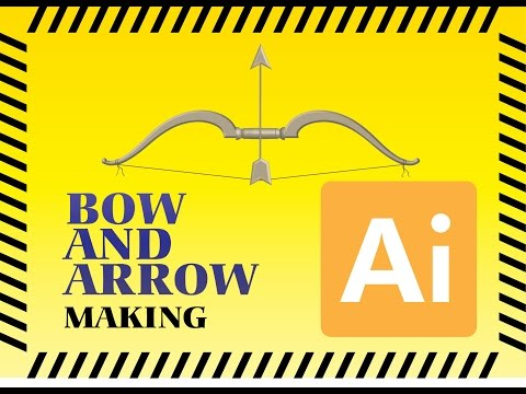 Adobe Illustrator BOW AND ARROW