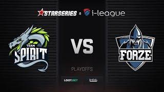 Spirit vs forZe, map 3 cobblestone, StarSeries i-League S5 CIS Qualifier