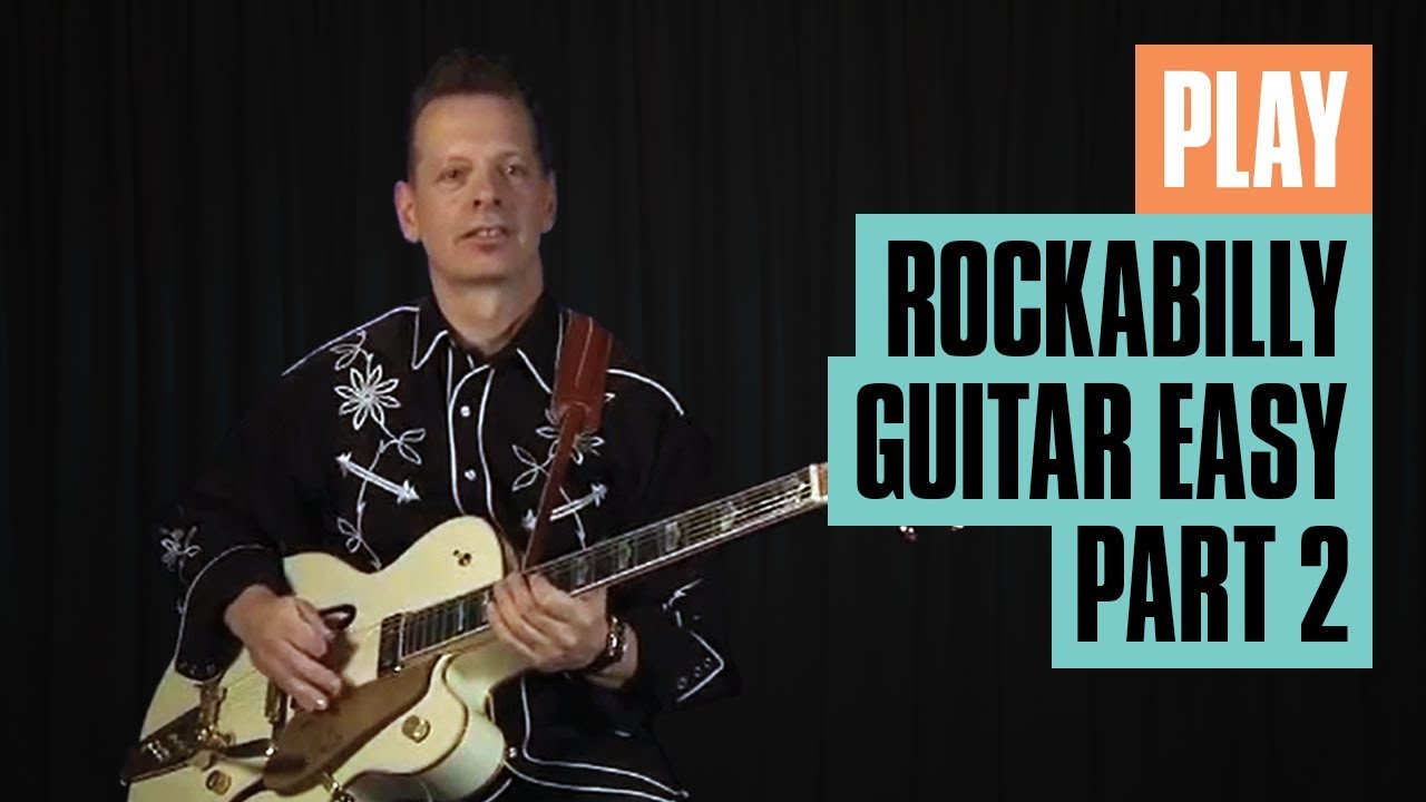 Play Rockabilly Guitar Easy Part 1 | Rockabilly Guitar Lesson | Guitar Tricks