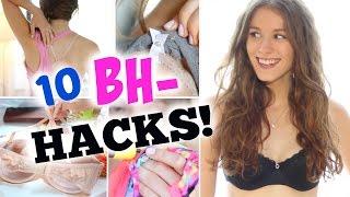 10 nützliche BH HACKS! ♡ BarbieLovesLipsticks