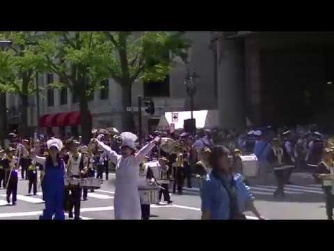 瀬戸ヶ谷小学校マーチングバンド YOKOHAMA BAYSIDE KIDS (第62回ザよこはまパレード:キッズパレード)