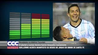 Novedades en Atlético Tucumán