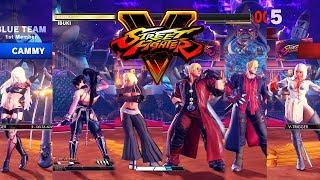 Video Street Fighter V AE Cammy/Ibuki/Kolin vs Devil May Cry Team PC Mod MP3, 3GP, MP4, WEBM, AVI, FLV Juli 2019