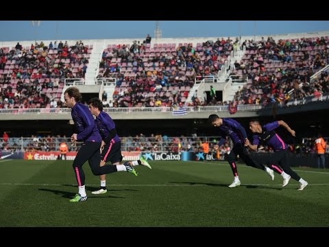 FC Barcelona - Open doors training session [FULL VIDEO]