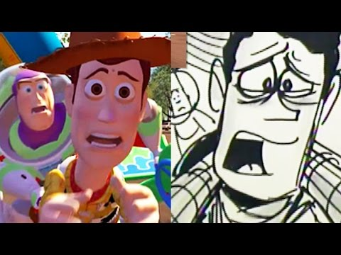Toy Story Side-By-Side :