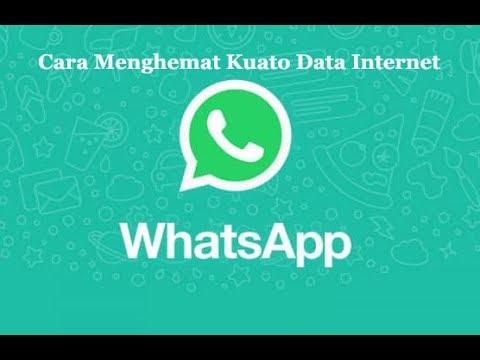 Cara Menghemat Kuota Paket Data Internet di Aplikasi WhatsApp atau WA