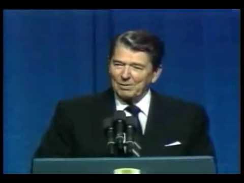 Reagan Speaks from a Democrat Platform