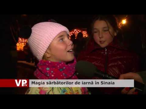 Magia sărbătorilor de iarnă în Sinaia