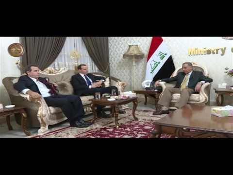 خالد العبيدي يستقبل مبعوث أوباما الذي أكد إن معركة تحرير الموصل هي معركة كل العالم