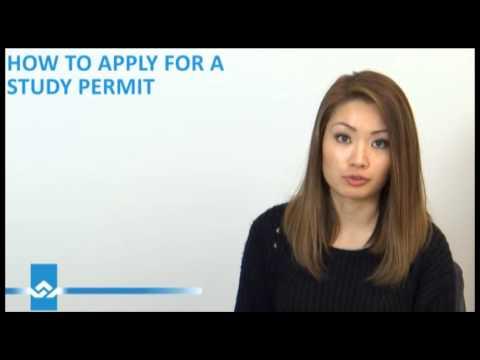 Obtain a Study Permit Video