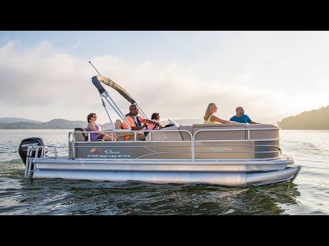 SUN TRACKER Boats: PARTY BARGE 20 DLX Recreational Pontoon