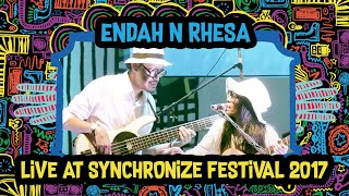 Video Endah N Rhesa live at SynchronizeFest - 8 Oktober 2017 MP3, 3GP, MP4, WEBM, AVI, FLV Juni 2018