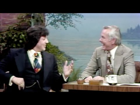 Sylvester Stallone on The Tonight Show Starring Johnny Carson Promoting His New Movie, Rocky -  pt.1