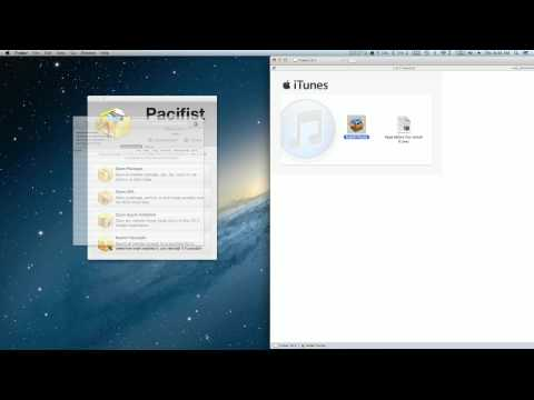10.7 - Simple step by step instructions for rolling back iTunes 11.01 to iTunes 10.7 using Pacifist.