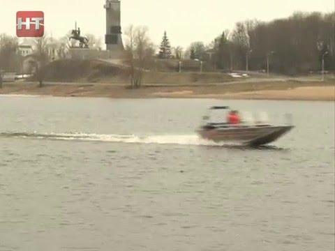 В районах Новгородской области постепенно вводится запрет выхода на лед