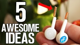 Video 5 Awesome Ideas - Homemade inventions MP3, 3GP, MP4, WEBM, AVI, FLV November 2018