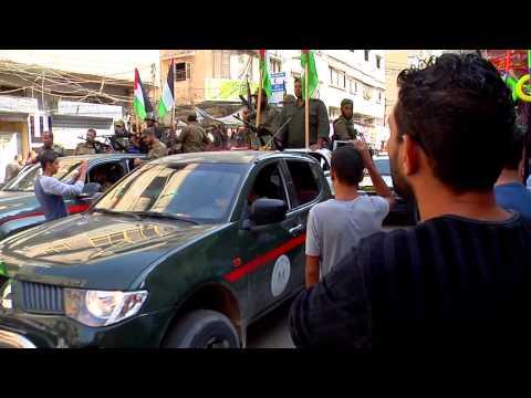 فاصل مسير التحرير في ذكرى حرب حجارة السجيل محافظة خانيونس