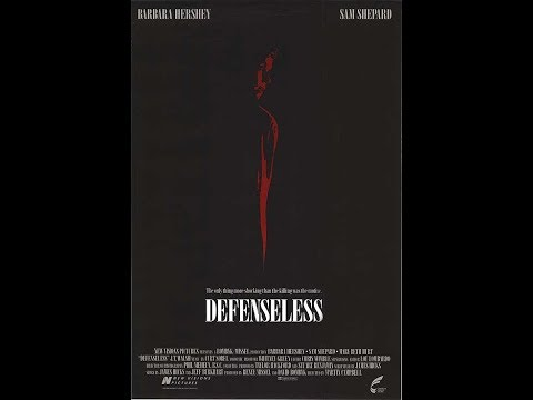 Defenseless (1991) Previews - Canadian VHS Release