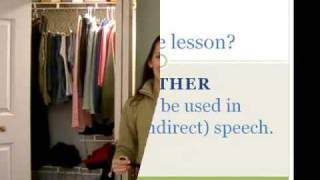Whether, Common Mistakes in English Lesson 7b