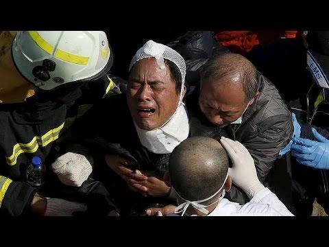 Ταϊβάν σεισμός: Υπεράνθρωπες προσπάθειες για την ανεύρεση επιζώντων
