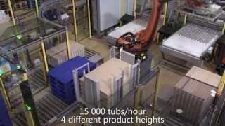 GEBO CERMEX: Automatická paletizace
