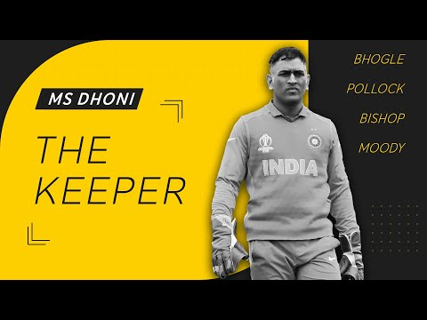 A tribute to MS Dhoni the wicket-keeper