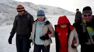 Зима на дельтадроме