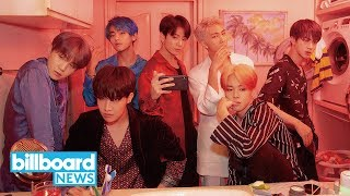See What BTS' V, Drake, Jonas Brothers and More Look Like With Old-Age Filter   Billboard News