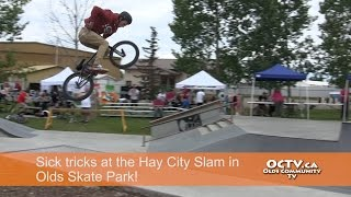 Olds (AB) Canada  city photos gallery : Hay City Slam showcases talent in the skate park in Olds AB!