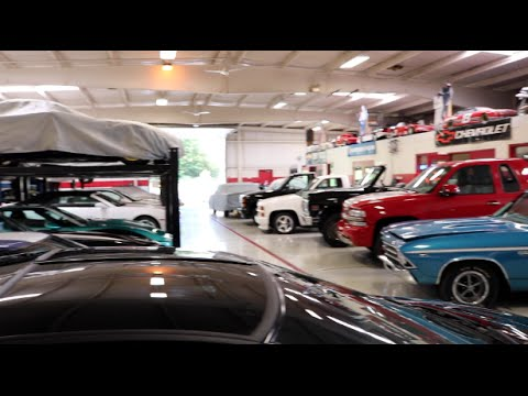 Garage full of brand new cars?