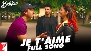 Nonton Je T Aime   Full Song   Befikre   Ranveer Singh   Vaani Kapoor   Vishal Dadlani   Sunidhi Chauhan Film Subtitle Indonesia Streaming Movie Download