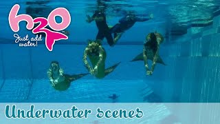 H2O: Just Add Water - Behind the scenes: Underwater scenes