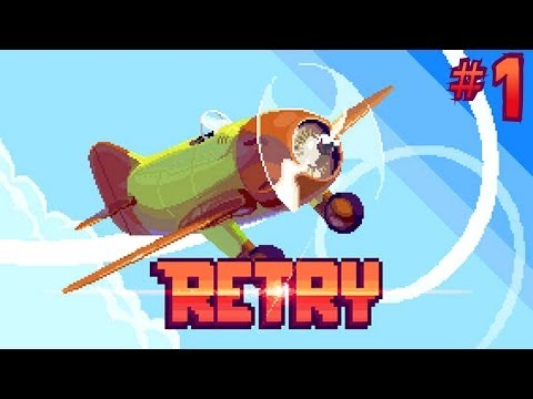 rovio - Let's Play Retry. Heavily inspired by the recent smash hit mobile game, Flappy Bird, Rovio have just launched Retry on the iOS appstore (in Canada, Finland a...