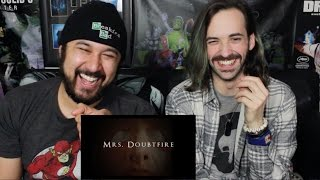 Mrs. Doubtfire - HORROR TRAILER REACTION!!! by The Reel Rejects