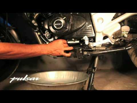 Cambio del aceite del motor