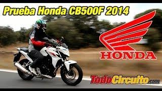 5. Honda CB500F 2014: Prueba a fondo [FullHD]